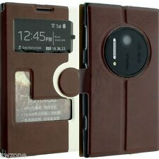 FOR NOKIA LUMIA 1020 LEATHER CASE COVER WALLET POUCH FLIP SLIM SKIN N1020 SW18
