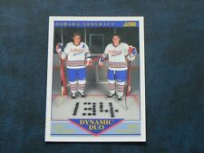 1991-92 91/92 Score Dynamic Duo #385 Eric Lindros Rob Pearson Oshawa Generals