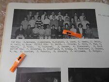 1963 CUPERTINO JUNIOR HIGH YEARBOOK/STEVE WOZNIAK 7th GRADE PICTURE/JOBS FRIEND