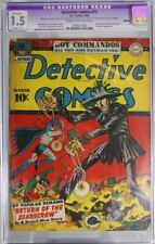 DETECTIVE COMICS # 73 - CGC RESTORED 1.5 - 1st & only Golden Age SCARECROW cover