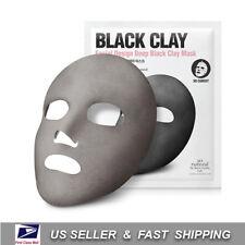 [ SO NATURAL ] Design Deep Black Clay Mask (1 Sheet) +Free Sample+