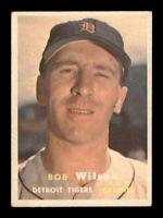 1957 Topps Set Break # 19 Bob Wilson EX *OBGcards*