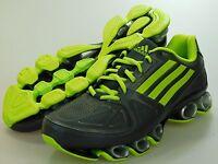 New ADIDAS Mens NITRO FB BOUNCE GRAY/GREEN RUNNING SHOES d66164 Size 9