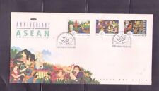 Singapore 1992 ,25th Anniversary of ASEAN, FDC