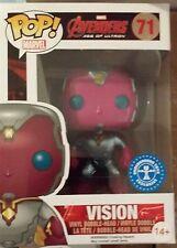 Visión Metálico Marvel Vengadores Figura De Vinilo-Nuevo Pop! Ltd Edition Caja Dañada
