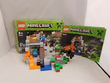 LEGO Minecraft The Cave set 21113 with box and instructions