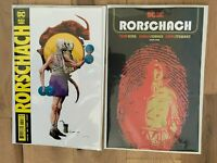 RORSCHACH 1 2020 Main Cover + Jae Lee Variant SetTom  King DC NM 10/13 PreSell
