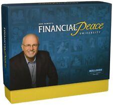 BRAND NEW! Dave Ramsey's Financial Peace University FPU WorkBook & CD Box Set