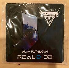 Disney Pin Cars 3 Jackson Storm Real D 3D - Blue AMC Pin - Pixar's Cars 3
