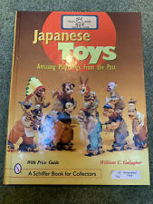 1960s Tin Japan tps JAPANESE TOYS BOOK Playthings William Gallagher Autographed!