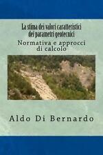 ProgramGeo: La Stima Dei Valori Caratteristici Dei Parametri Geotecnici :...