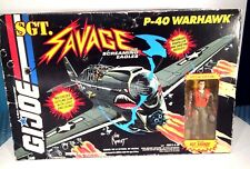 G.I. Joe SGT.Savage P-40 Warhawk with Special Edition Sgt.Savage Fighter Pilot