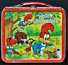 1972 Woody Woodpecker Vintage Lunch Box By Aladdin