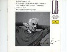 CD  LEONARD BERNSTEINSchumann - symphonie no 1 - Frühlin springDG EX   (B4183)