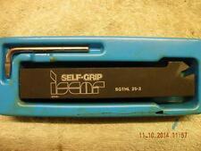 ISCAR PARTING TOOL SGTHL 25-3 SELF GRIP + INSERT RELEASE KEY UNUSED