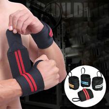 Gym Bodybuilding Wrist Support Wraps Bandage Weight Lifting Bar Straps Band Wrap