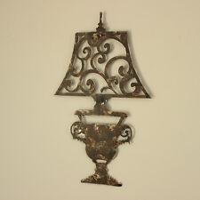 Effetto INVECCHIATO Design Lampada in metallo stile vintage Wall Art Home decorazione idea