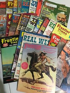 assorted lot of 30 vintage Western magazines 1950-1980's good condition