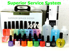 CND UV/LED Gel Color SUPERIOR SERVICE SYSTEM *Start & Finish Polish Kit