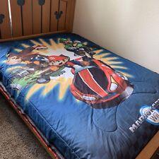 Mario Kart Donkey Kong Nintendo Wii Bedding Comforter Twin Size Blanket Rare