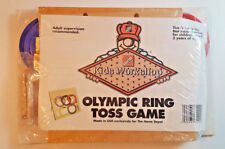 OLYMPIC RING TOSS GAME HOME DEPOT KIDS WORKSHOP NEW WOOD BUILD KIT SET NIP