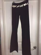 LULULEMON Women's Black Groove Pant Reflective Waist Luon Yoga Pants sz 2