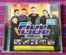 Five ~ Live ( Malaysia Press ) Vcd