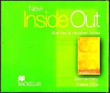 Macmillan NEW INSIDE OUT Elementary Class CDs / Sue Kay & Vaughan Jones @NEW@