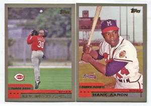 2000 Topps Series 1 & 2 Complete Set #1-479 +NNO McGwire,Ken Griffey,Derek Jeter