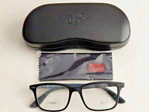 Brand New Ray-Ban LIGHTFORCE Ultra-Light Gray Prescription Eyeglass Frames.