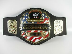 WWE United States Champion Belt 2003 JAKKS Pacific Kids Belt Roleplay Cosplay