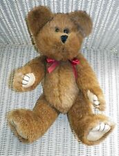 """Gorgeous 10"""" Brown Jointed Teddy Bear With Movable Arms, Legs & Head"""