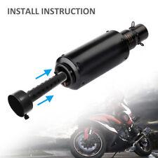 Pot d'échappement moto peut insérer chicane DB Killer silencieux pour 35mm