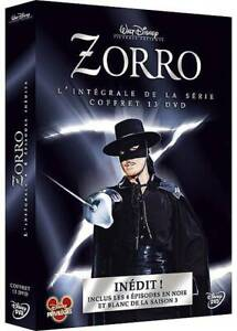 Zorro - L'intégrale des saisons 1 à 3 - coffret 13 DVD - NEUF -VERSION FRANÇAISE