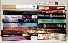 Lot of 16 Paperback Books Assorted Authors