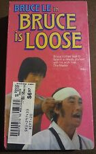 Bruce Lee in BRUCE IS LOOSE - RARE VHS 1988 Video starring Master Le NIP B-Movie