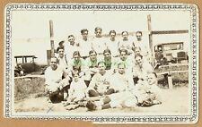 Antique Photo 1920s BASEBALL TEAM Sanford Pros SANFORD MAINE New England