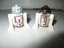 Lego Star Wars Mini figure Rare R4-G0 & R3-M2 Astromech Droids (Genuine Lego)