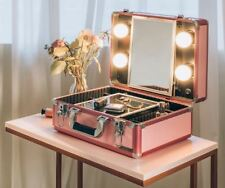 Lasomme Korean Celebrity Pink Carrier Make Up Table Vanity Set Free Shipping
