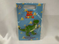 2018 Loungefly Toy Story Land Grand Opening Limited Release Pin - Rex ~ New