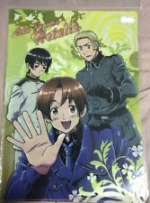 Hetalia Axis Powers Giappone,Italia,Germania clear file cartellina original jap