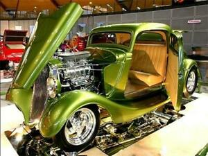 1933 Ford Coupe Hot Rod Award Winning Show Car