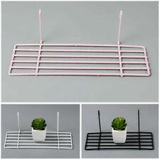Portable Iron Grid Storage Shelf Book Bonsai Organizer Holder Home Garden Decor