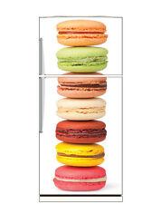 Stickers frigo frigidaire Macarons 70x170cm réf 6206