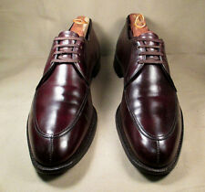 ET Wright Split -Toe Norwegian Brown Leather Oxford shoes Size 12.5A Made in USA