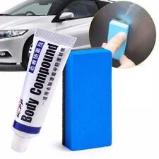 Car Body Compound Scratch Remover MAGIC Eraser Paste + Sponge Brush Practical UK