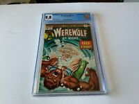 WEREWOLF BY NIGHT 22 CGC 9.8 WHITE PS COOL COVER THE FIEND MARVEL COMICS 1974 TT