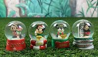 2004-2007 Disney JCPenney Black Friday Mickey Mouse Mini Snow globe lot - B09