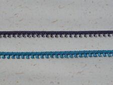 Haberdashery Supplies ~ 5 metres x 2mm Picot Braid AMETHYST~