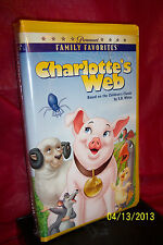 Charlotte's Web (VHS, 1996) BRAND NEW FACTORY SEALED